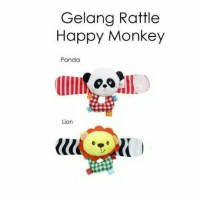 Jual Gelang rattle Happy monkey Murah