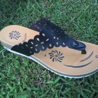 Jual Handmade Sandal T Shoes Wanita Jepit Kulit fitflop Murah