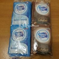 Susu Sachet Putih atau Coklat Bendera Frisian Flag 1 Bungkus Isi 6