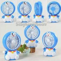 Jual Kipas angin Usb mini fan portable karakter Doraemon & Hello kitty Murah