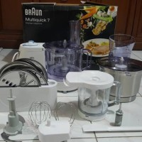BRAUN multiquick 7 Premium food processor
