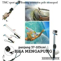 Jual TMC sport gear floating Monopod With Remote Control Slot GoPro Murah