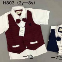 baju anak cowok import branded kemeja tuxedo stripes eiger fashion