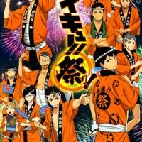 Poster Anime Haikyuu Kageyama Tobio Hinata Shoyo Kei Karasuno