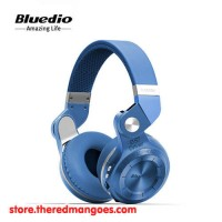 harga Bluedio T2+ Headset Bluetooth With Micro Sd Slot And Fm Radio Blue Tokopedia.com