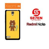 Casing HP Xiaomi Redmi Note 1 brown 5 Custom Hardcase