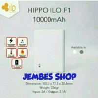 Jual Hippo Powerbank ILO F1 10.000mAh Real Capacity 100%ORIGINAL Resmi Murah