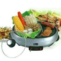 Jual PROMO Panci suki tepanyaki shabu shabu Gril BBQ Barbeque Panggangan Murah