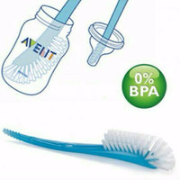 Jual sikat botol dot Philips Avent bottle and nipple brush BPA Free Murah