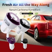 Jual Car Humidifier Aromatherapy Nanum Car 2 Support Charger 2 Usb Murah