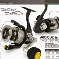 Reel Pancing Pioneer Altitude Prestige ALT-5000 Drag 8 kg