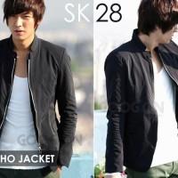 Jaket pria Black Style Lee Min Hoo SK - 28