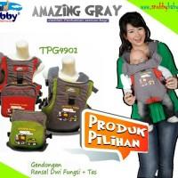 Snobby Gendongan Bayi Ransel Dwi Fungsi + TAS Print Amazing TPG 4901