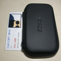 Ktab External Hard Drive Disk Earphone Powerbank Protection Case Bag