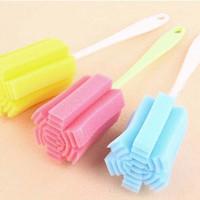 Jual Cleaner sponge/spons tongkat pembersih botol gelas-HKN 008 Murah