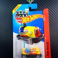 D-110 Hot Wheels Bump Around Yellow