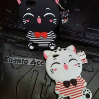 Case 4D Cat Costum Oppo Neo 7/A33/New/Karakter/Mimi Cat/Silikon/4D