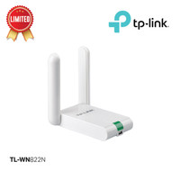 TP-LINK TL-WN822N 300Mbps High Gain Wireless USB Adapter - White