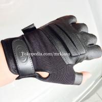Sarung Tangan Motor kulit ransel OMEGA setengah jari bikers