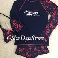 Jual Bikini Longhand Tropical Murah