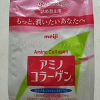 **HOT ITEM**Meiji Amino Collagen Refill 214gr Original Japan