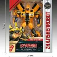 Transformers 5 The Last Knight Bumblebee Zhanshenrobot + 1 Bikit Guard
