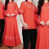 IV Muslim Couple Elegant Bordir Bata / Baju Muslim / Edisi Lebaran