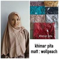 Jual Supplier Hijab Khimar Pita Murah Murah