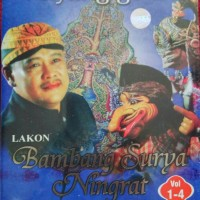 Jual Vcd Original 4 Disk,Wayang Golek Bambang Surya Ningrat Murah