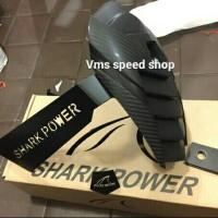 Jual mudguard / mud guard shark power yamaha xabre / R15/ R25 Murah