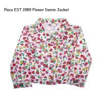 Place EST 1989 Flower Denim Jacket