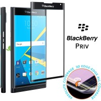 Anti Gores Tempered Glass Full Edge Layar Body Blackberry Priv Prive