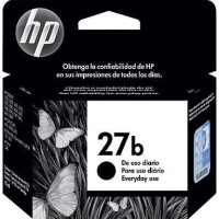 Tinta HP ink cartridge 27 simple Black (27b) Original Berkualitas