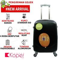 harga Tas Koper Polo Hoby - Fiber Abs Bagasi Size 24 Inch 705 Black Tokopedia.com