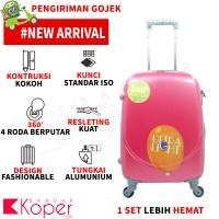 harga Tas Koper Polo Hoby - Fiber Abs Bagasi Size 24 Inch 705 Pink Tokopedia.com