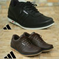 Sepatu Pria Casual Kulit Asli Adidas Bukan Kickers Sneakers Tali Murah