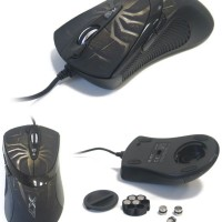 Jual Mouse Gaming Makro A4tech X7-747 Spider Murah