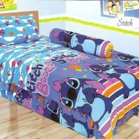 harga Sprei Duo Bed Sorong 120x200 Stitch Tokopedia.com
