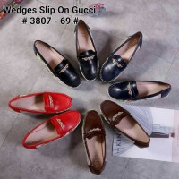 Sepatu Wedges Slip on GUCCI 3807 - 69
