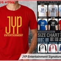 JYP Entertainment Signature 1 - BAJU KAOS DISTRO PRIA WANITA ANAK OCEA