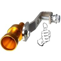 Fake Turbo Whistler Pipe Sound Muffler