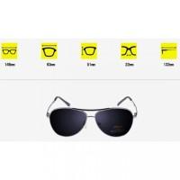 Jual Kacamata Sun Glass Aviator Black Polarized Murah