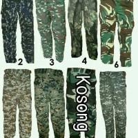 harga Celana Panjang Loreng Militer Army Tokopedia.com