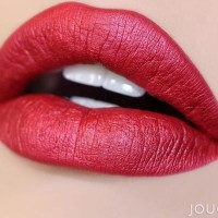 JOUER LONG WEAR LIP CREME LIQUID LIPSTICK CRANBERRY