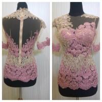 Dress Wanita Baju Kebaya Brokat Modern Model Kebaya Solo Modern