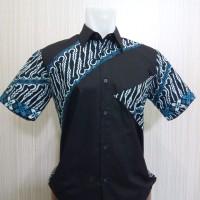 Harga Jual Model Kemeja Batik Kombinasi Modern 2018 Batik Indonesia