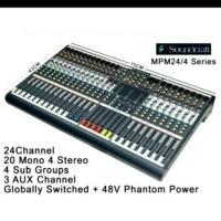 mixer soundcraft MPM-24/4(24 channel)
