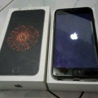 iphone 6 plus 64GB grey second Ibox indonesia