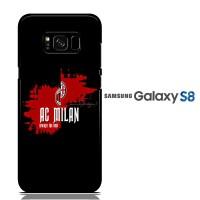AC Milan Soccer Splash E0946 Casing Samsung S8 Custom Hard case