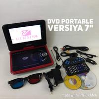 "Dvd portable/Dvd player/Dvd TV 7"" 3D Versiya"